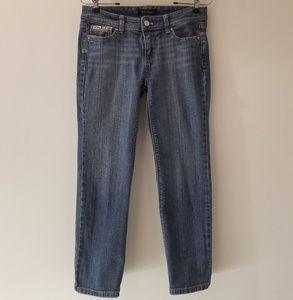 WHBM Jeweled Crop Leg Denim Jean (2)